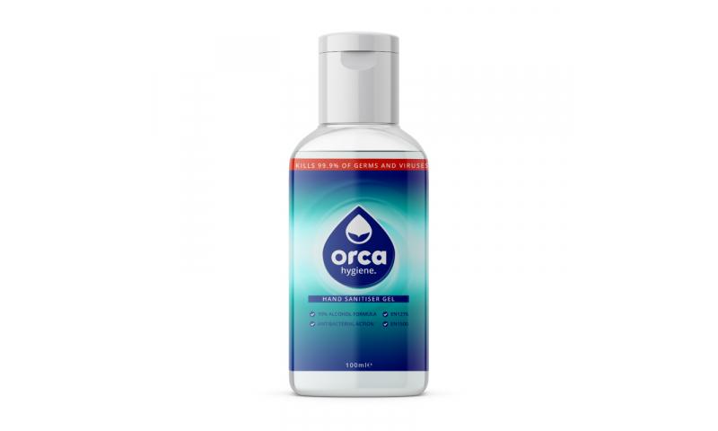 Orcagel 100ml Alcohol Gel Hand Sanitiser 70% Alc. PCS100609