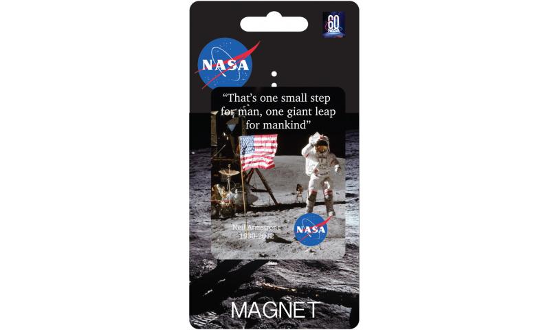 NASA Tin Magnet - Moon Landing Design