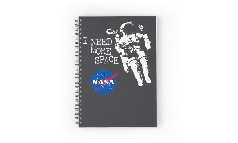 NASA A6 Notebook - I Need Space