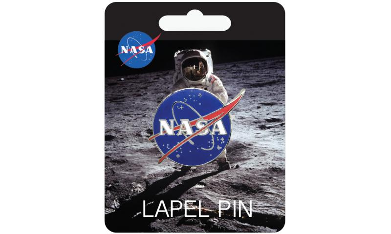 NASA Logo Lapel Pin