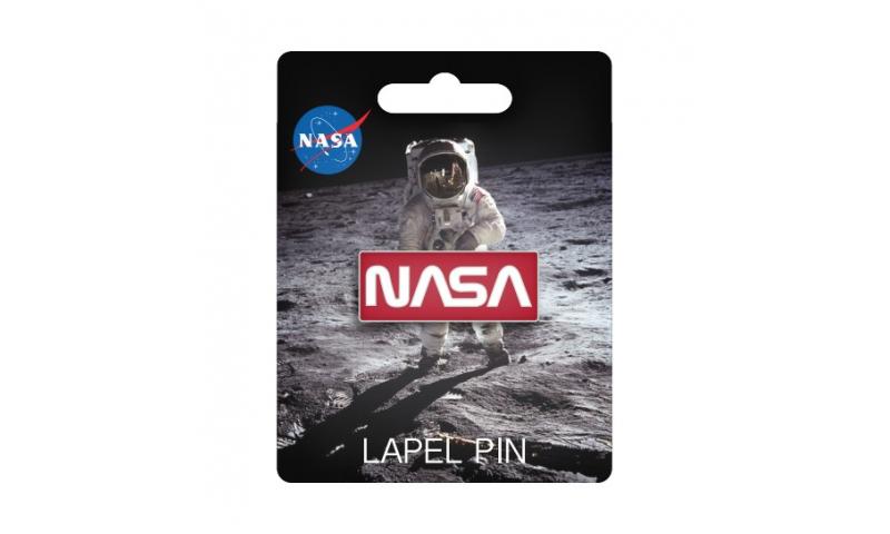 NASA Retro Logo Lapel Pin