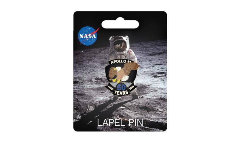 NASA Apollo 11 50th Lapel Pin