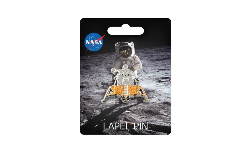 NASA Lunar Module Lapel Pin