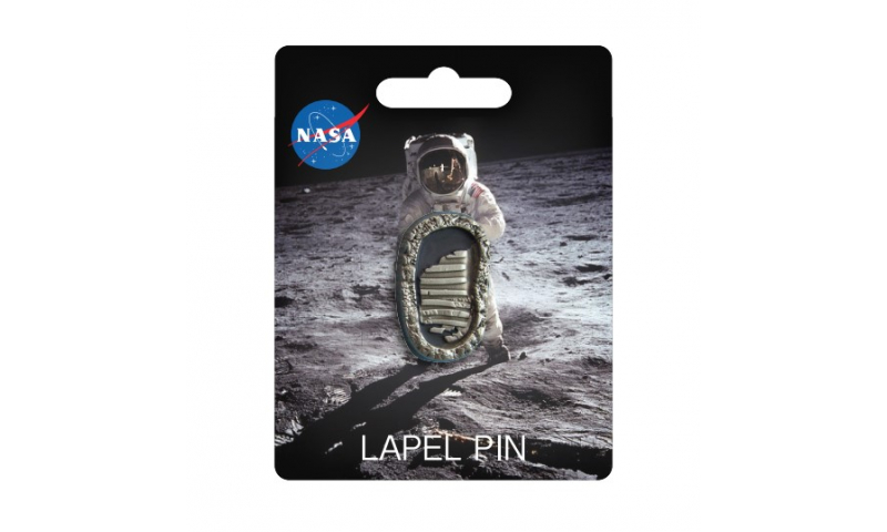 NASA Boot Lapel Pin