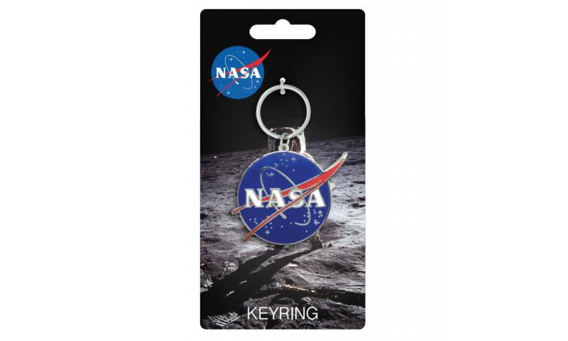 NASA Logo Metal Keyring