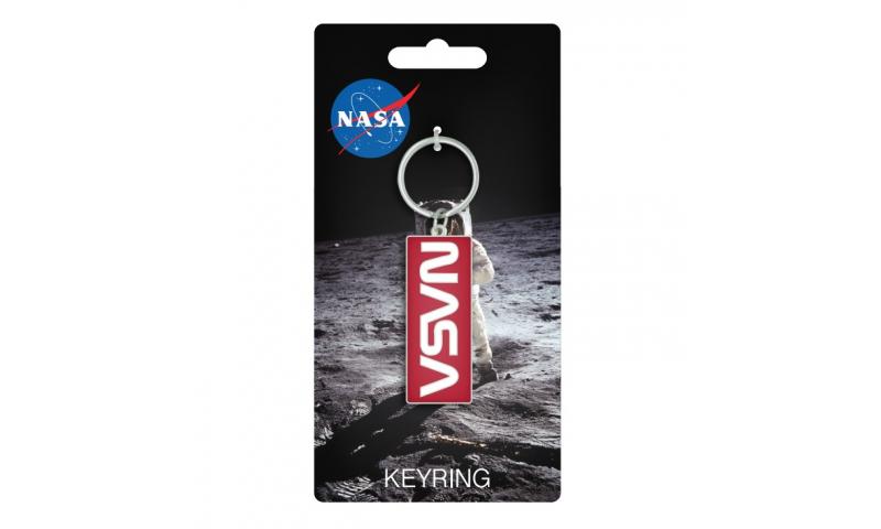 NASA Retro Logo Keyring