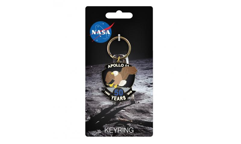 NASA Apollo 11 50th Keyring