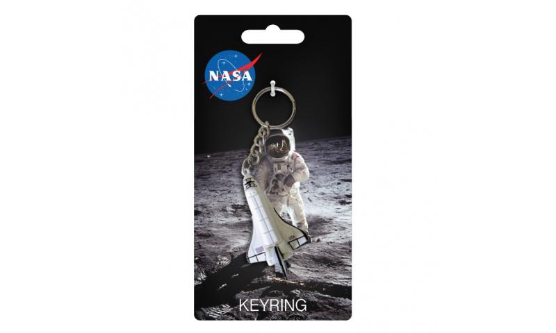 NASA PVC 3D Shuttle Keyring