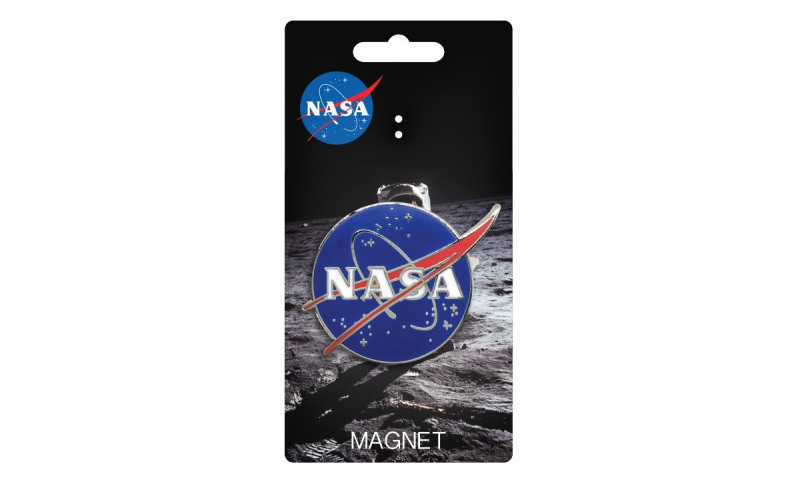 NASA Logo Metal Magnet