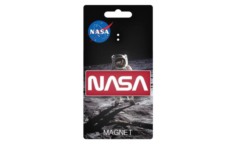 NASA Retro Logo Magnet
