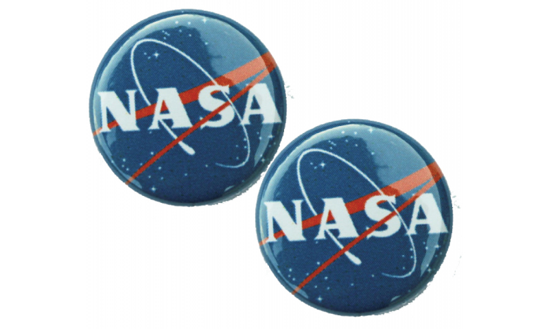 NASA Button Badge
