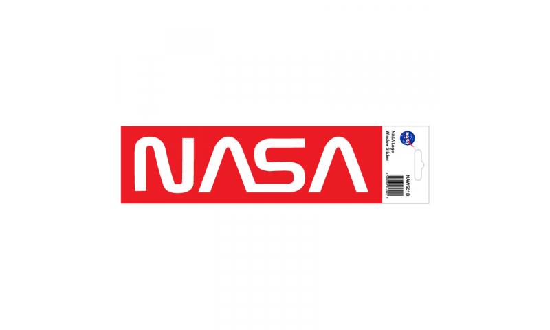 NASA Sticker Retro Logo