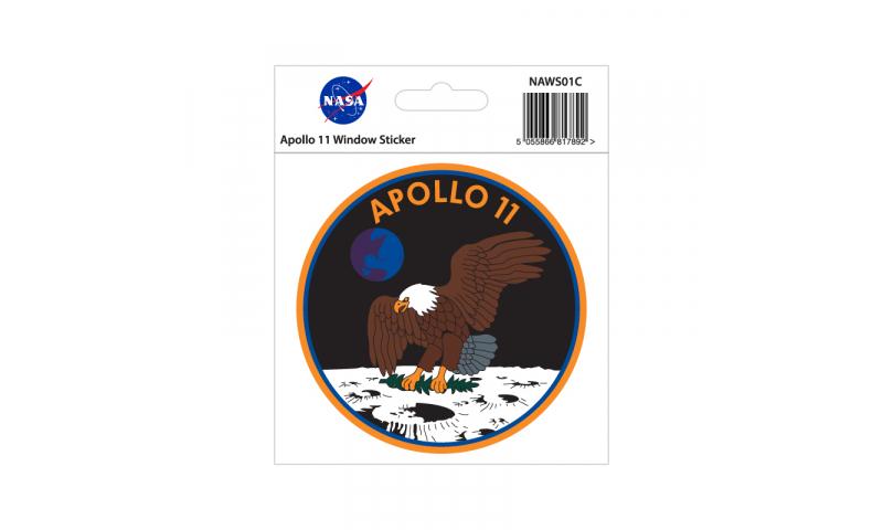 NASA Sticker Apollo 11