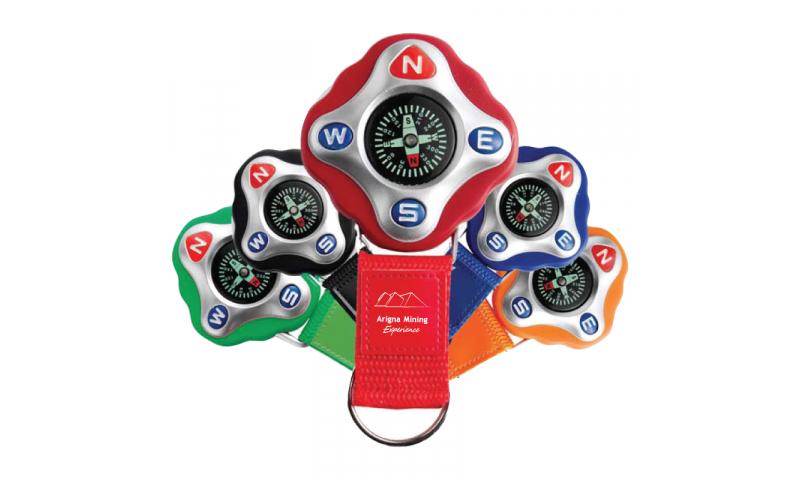 Active Compass Keyring