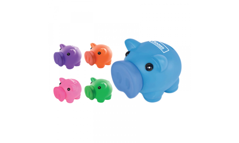 Soft Feel Piggy Bank - NEW