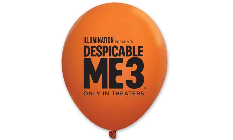 "Bespoke Souvenir Branded Balloons 10"""