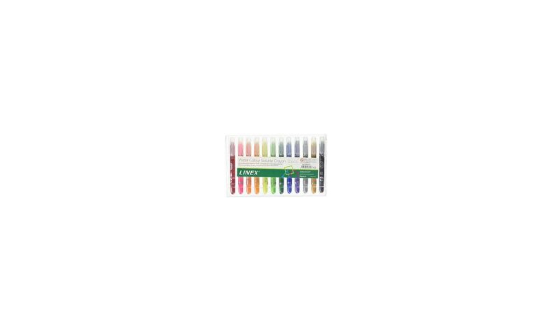 Linex Artists Large Water Soluble Crayons Pack of 12
