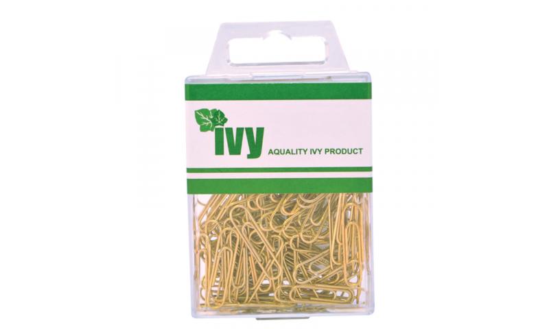 IVY Hang Tidy Box Paper Clip Brassed 25mm, 100pcs