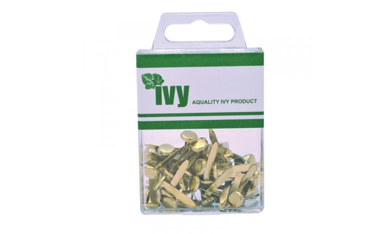 IVY Hang Tidy Box Paper Fasteners 19mm, 50pcs