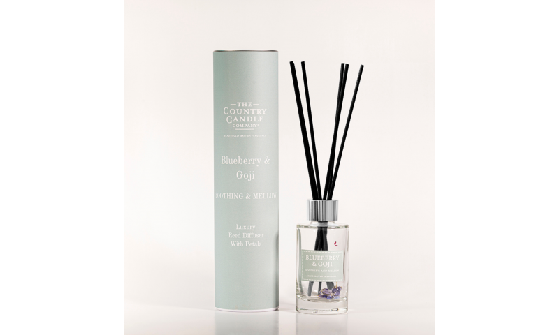 Country Candle Blueberry & Goji Pastel 100ml Reed Diffuser