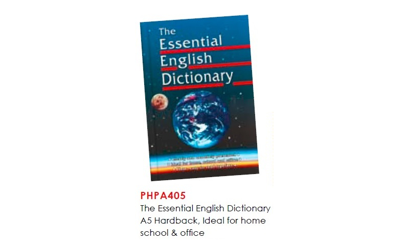 The Essential English Dictionary A5 Hardback, Ideal for home, School & Office: On Special Offer