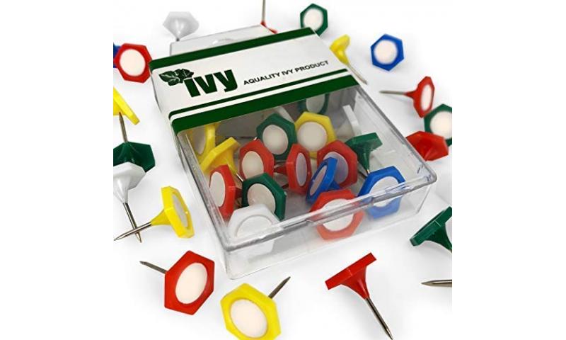 IVY Hang Tidy Box Indicator Pins 15mm, 20pcs