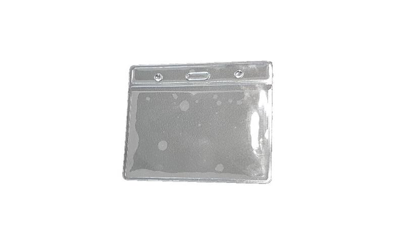 Clear Soft Plastic ID Card Holders 60x95mm insert size