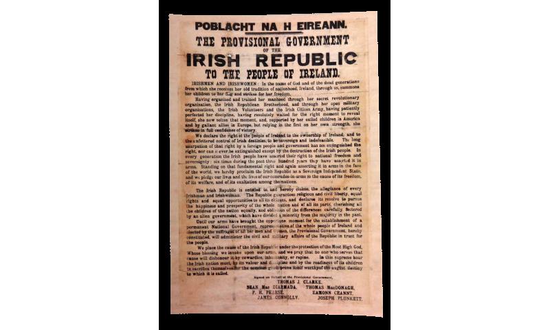 Proclamation Postcard
