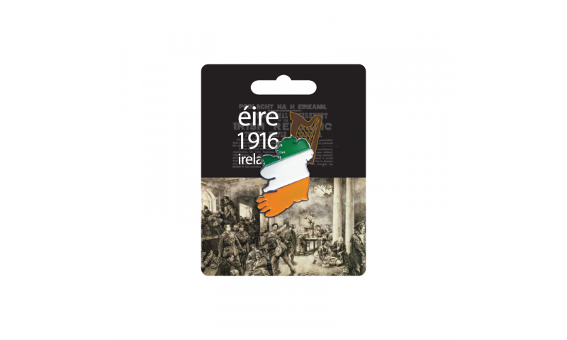 Proclamation Ireland Lapel Pin on Headercard