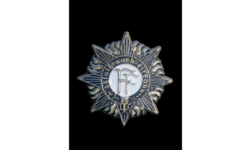 Metal Lapel Pin on Headercard -  FF Badge