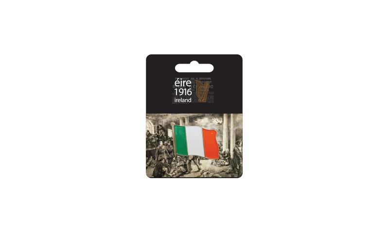 Proclamation Ireland Flag Lapel Pin on Headercard