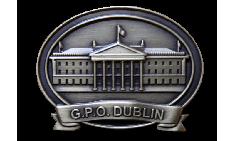 Proclamation GPO Lapel Pin on Headercard