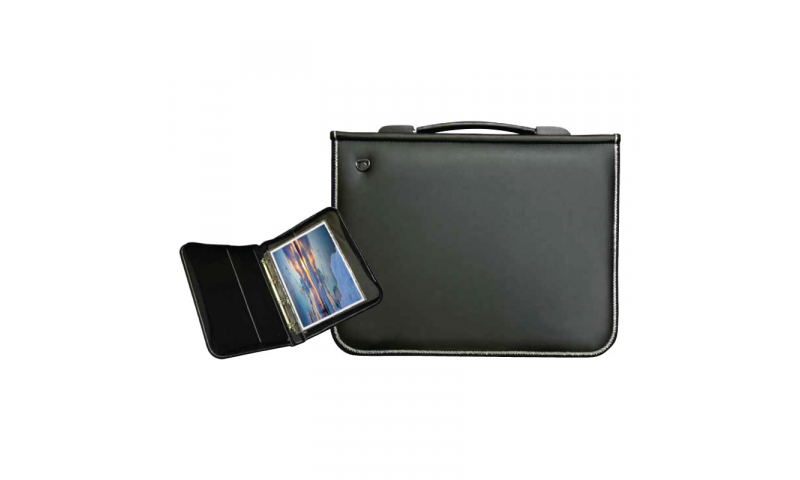 Artcare Premier Padded PU Portfolio with Fitted Ring Binder A2 Size (New Lower Price for 2021)