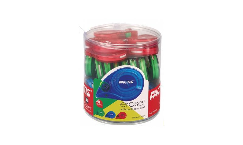 Factis Snail Precise Pencil Eraser Dispenser - 3 Asstd Colours (New Lower Price for 2021)