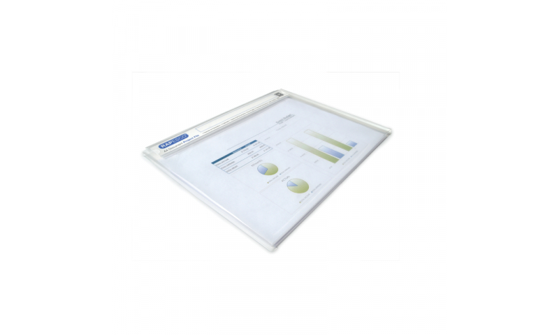 Rapesco A4 Document Project File, clear, Pack of 5