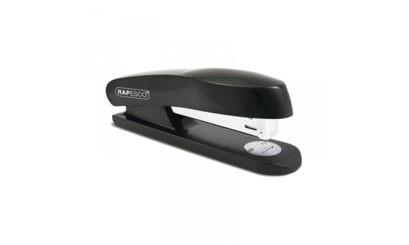 Rapesco Skippa Stapler - Full Strip Black, Plastic Case, Retail Boxed. (New Lower Price for 2021)