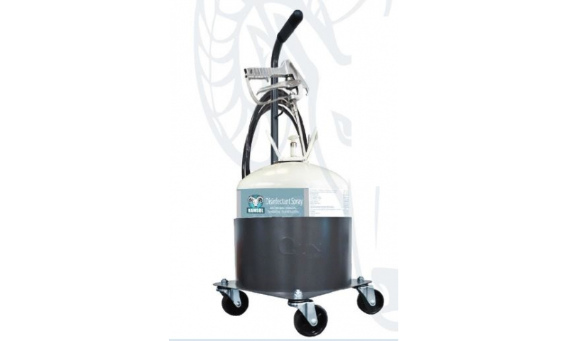 Ramsol Full Mobile Sanitising Kit including 22 Litre 99.9% Anti-Bacterial Tank.  (In Stock)