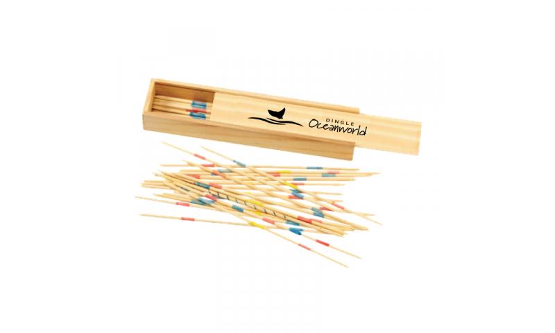 Natura Wooden Pick Up Sticks Set- NEW