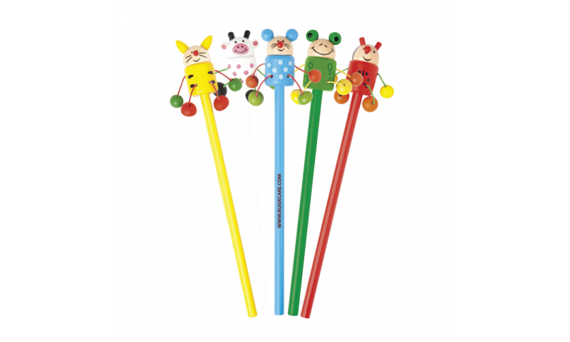 Natura Wooden Animal Pal Pencils - NEW
