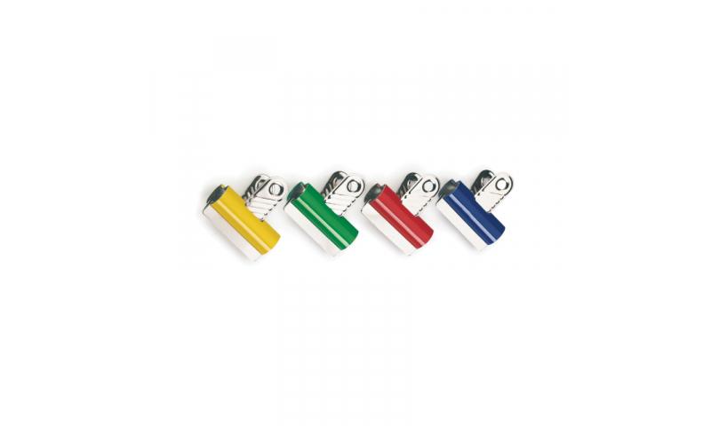 Rapesco 30mm Coloured Letter clips - Asstd pk 10  (New Lower Price for 2021)