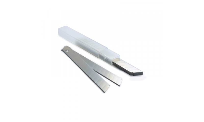 Rapesco 9mm Snap-off blades for cutters, pack 10