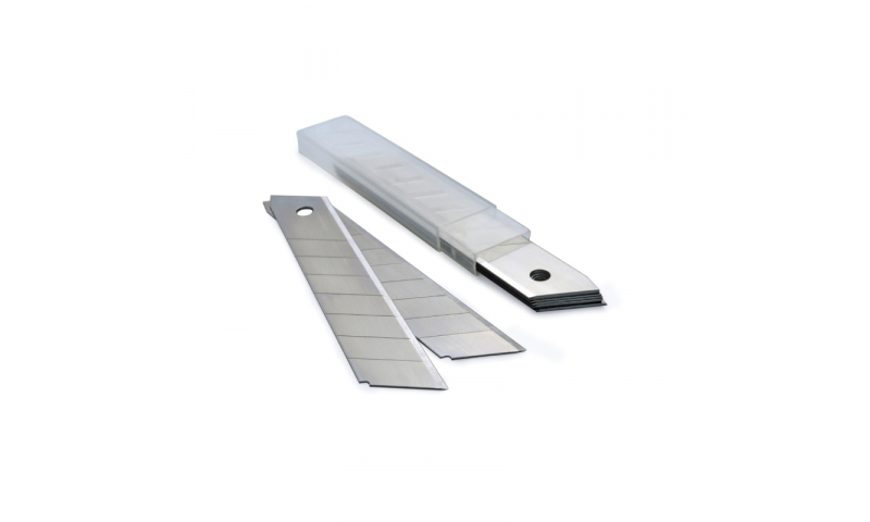 Rapesco 18mm snap-off blades for cutters, pack 10
