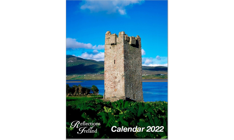 Irish Reflections A3, Monthly 12 Pages 2022 Top Range Calendar
