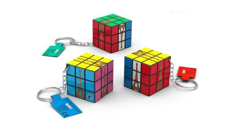 Rubix Cube Keyring