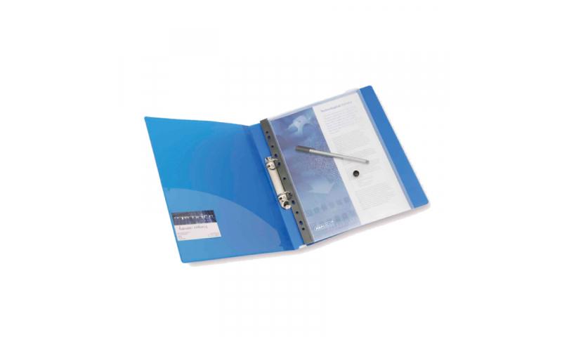 Rapesco Ringbinder Popper Wallet Pk5 Clear