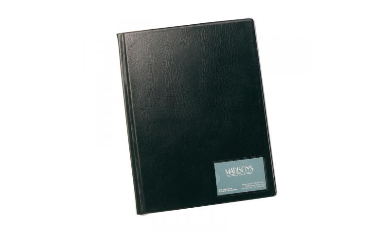 Rapesco A4 Hardback Display Book 50 Pockets