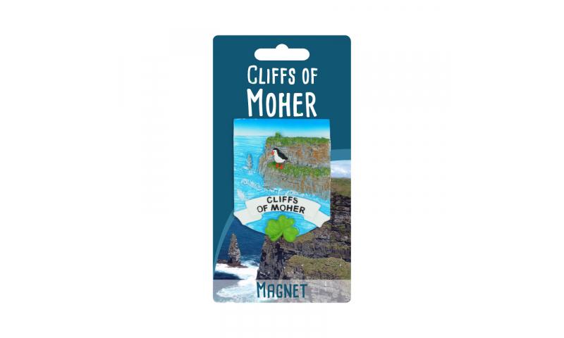 Cliffs of Moher Resin Magnet