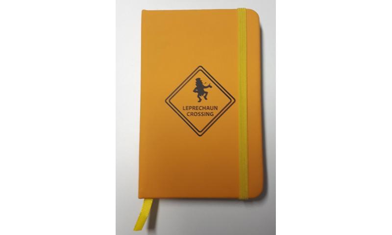 Roadsign Pocket Velvet Notebook with Elastic