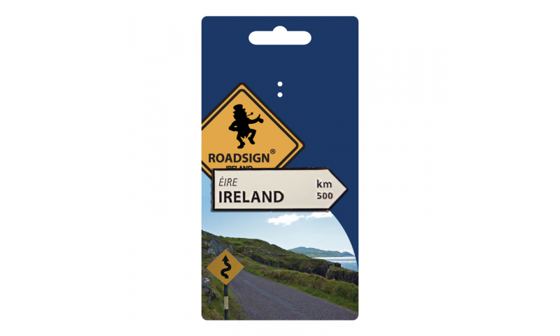 Roadsign Metal Magnet ( Add County / Town Name )