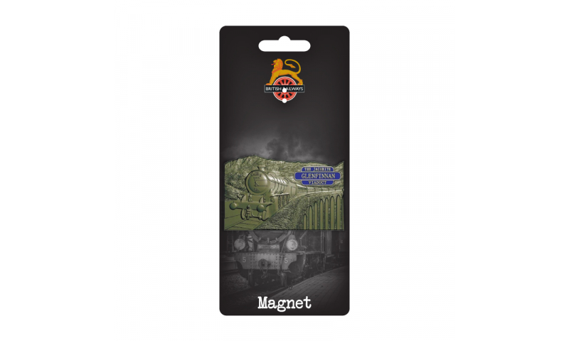 Railway Design  Metal Magnet  -  Fully Bespoke Design on Railway Headercard